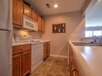 This fully equipped kitchen can handle all of your cooking needs!