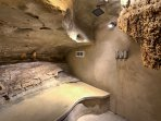 Just imagine living in a cave!
