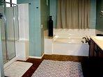 Huge master bathroom