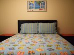 Bed,Bedroom,Furniture,Art,Painting