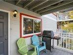 Deck,Porch,Bench,Balcony,Door