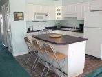 Kitchen with Island/Breakfast Bar