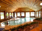 Indoor Pool Heated in winter