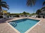 Pool, Water, Palm Tree, Tree, Building