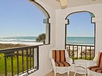 Chair, Furniture, Balcony, Railing, Indoors