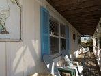 Deck, Porch, Building, Indoors, Room