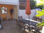 Umbrella, Chair, Furniture, Dining Room, Indoors