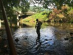 Enjoy Fly-fishing just 5 minutes From Condo