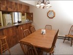 Dining Room for 8 and Breakfast Bar for 2