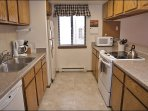 New Convection Oven, Counters, & Backsplash in the Kitchen