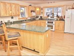 Really Spacious Kitchen with Double Oven, Breakfast Bar