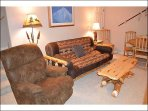 Alternate View of Lower Living Room
