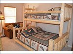 Bedroom 3 with Captains Bunk Bed