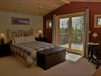 Master Bedroom with Queen, Private Bathroom, Large Balcony