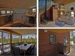 Office Space, Open Concept Living, Covered Deck with Grill, Outdoor Dining with Views