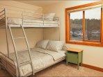 Twin over Full Bunk Bed in Bedroom 3