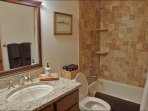 Full Bathroom shared by Bedrooms 2 and 3