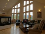 Extra High Vaulted Ceilings and Plentiful Natural Light