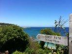 Fabulous coastal path walks on your doorstep