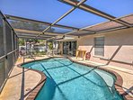 Look forward to splashing around in the private pool in the screened lanai!