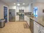 Whip up a home-cooked masterpiece in the fully equipped kitchen, complete with brand new granite countertops and new...