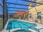 Pack your bags and escape to this wonderful Davenport vacation rental villa!