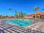 Splash around in the community pool!