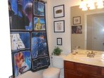 star wars themed bedroom and bathroom