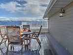 This home features abundant views of Flathead Lake and Mission Mountains!