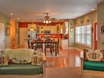 You'll love the southwestern decor that is incorporated into this beautiful home.