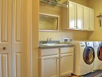 Keep clothes clean each day with in-unit laundry machines.