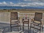 Gaze at the incredible Mission Mountains from your balcony!