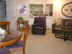 Relax in the leather recliner in Condo #2.   Book today!  (417) 581-fifteen 88. MyLakeCondo. com