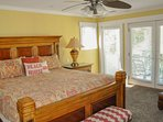2nd Level Master Suite opens to deck