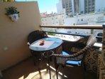 balcon y hotel Riu Monica