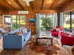Living with vineyard and alpine views