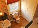 Brand new bathroom with Lefroy Brooks bath and shower