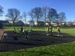 New Outdoor Gym in Crail Community Park