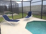 Loungers by Pool