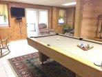 Slate Pool Table & Foosball Table