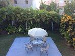 outdoor patio table