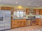 Bake sweet treats in this fully equipped kitchen.