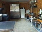 Main kitchen in Alpine home