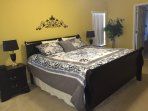 King Master Bedroom 1 with Euro-top Mattress, Ensuite Bathroom and 40' HDTV