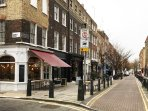 Lambs Conduit Street, one of Timeout London's top 5 Local shopping Streets