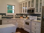 Fully renovated Kitchen with all cooking utensils