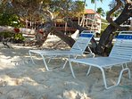Beach lounge chaises will be placed for you wherever you desire by our beach attendants.