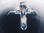 Pumpboat, capacity 30 persons + crew