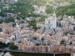 Girona desde el aire