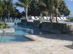 livelli inferiori e superiori della piscina
